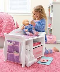 Baby Doll Changing Table American Changing Table Storage Unit For 15 Bitty Baby Doll