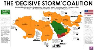 Red Sea World Map by Saudi Arabia Imposes Naval Blockade On Red Sea Strait Deploys