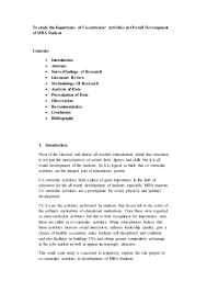 Extra Curricular For Resume Co Curricular Activities List For Resume Free Resume Example And