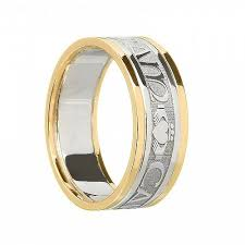 soulmate wedding ring claddagh soulmate ring with trim celtic rings ltd