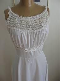 wedding peignoir sets vintage white peignoir set layers of chiffon