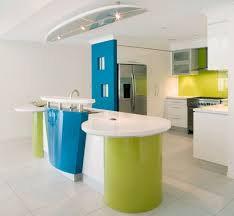kitchen design concepts pops of color with white background color inspiration
