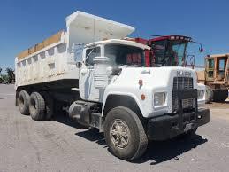 mack dump truck white mack rd 10 wheeler dump truck my truck pictures