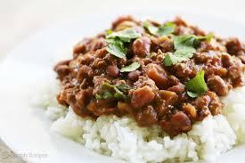 leftover thanksgiving turkey chili recipe chili beans with rice recipe simplyrecipes com