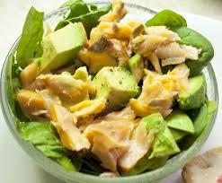 avocat cuisine salade express au saumon fumé et avocat alex cuisine