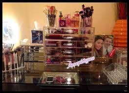 morphe acrylic makeup organizer review youtube