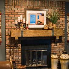 Shabby Chic Fireplaces by Wonderful Decorating Ideas For Mantels Brick Fireplace Images
