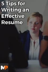 tips for writing a good resume 5 tips for writing a resume dalarcon com 735x1102 5 tips for writing an effective resume