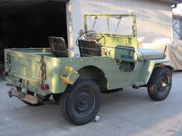 willys army jeep 1946 willys cj2a classic military vehicles