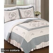 What Is Coverlet In Bedding Embroidered Quilts U0026 Bedspreads For Less Overstock Com