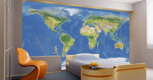 map mural map wall mural dezign with a z
