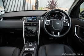 land rover discovery sport interior land rover discovery sport td4 se review video performancedrive