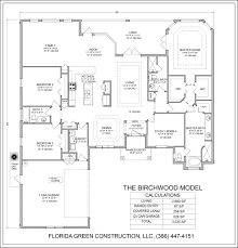 Florida Floor Plans Birchwood