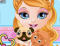 barbie tattoo quiz games baby barbie pet hospital girl games