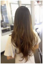 back of the hair long layers long layered hair back view straight layered hair back view long