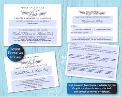 wedding invitations kilkenny typographical diy wedding stationery template set on silver pond