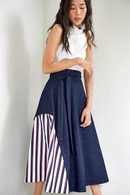 Katrina Model Com by Design Studio Online Store Katrina Skirt Denim Motifofficial Com