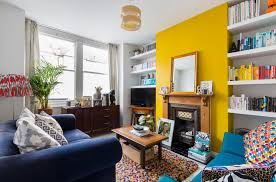 yellow livingroom 16 living rooms with accent walls