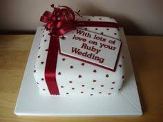ruby wedding cakes ruby wedding cake cakes ruby wedding cake ruby