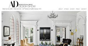 architectural digest home design show in new york city architectural digest design show march 22nd 25th 2018