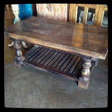 Baluster Coffee Table Baluster Coffee Table Nadeau Dallas