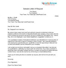 format of request letter to company sle request letter crna cover letter