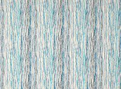 Cotton Linen Upholstery Fabric Quintus Lagoon Fougere Printed Cotton Linen Blend Designer