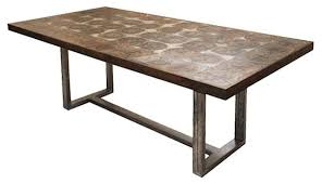 center base dining table houzz wrought iron wood dining table houzz