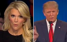 megan kellys hair styles donald trump says megyn kelly s tough questioning was due to