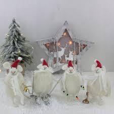 four christmas craft felt white mice love unique boutique