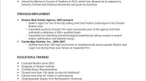 Apartment Leasing Agent Resume Resume Real Estate Resume Sensational Commercial Real Estate
