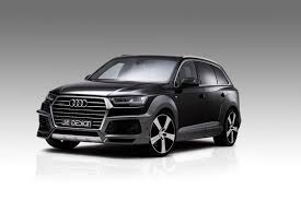 Audi Q7 Suv - official audi sq7 and q7 widebody by je design gtspirit