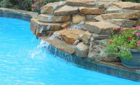 rock waterfalls for pools arkansas pool water features rock waterfall grotto little