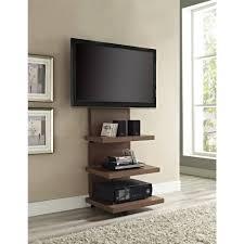 wood wall mounted tv shelves