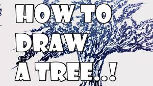 how to draw different types of trees sketchbook sculptures