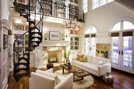 nice and appealing wrought iron spiral staircase crisp chicago living space with a wrought iron spiral staircase