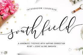 southfield typeface script fonts creative market