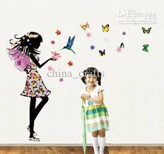 Kids Room Wall Stickers by New Listing Removable Little With Butterfly Wall Stickers