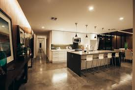 modern kitchen flooring ideas concrete floor ideas perfect home design