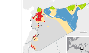 World Map Syria by How International Divisions Contributed To Syria U0027s War Without End