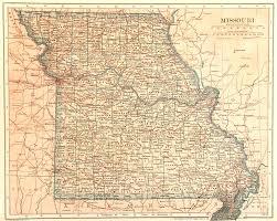 Map Missouri Missouri Map 1907 Original Art Antique Maps U0026 Prints