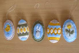 felt easter eggs felt fever allison beilke designs