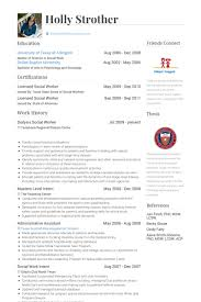 Sample Social Work Resumes by Dialysis Social Worker Cover Letter