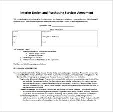 interior design fee structure template billingsblessingbags org