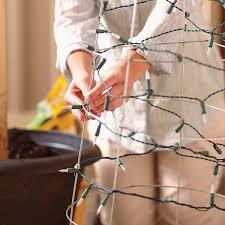 wire christmas tree with lights christmas craft ideas tomato cage christmas tree