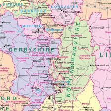 map uk and irelandmap uk counties united kingdom and ireland map of counties districts wall map mm