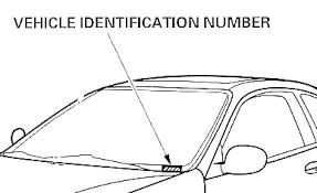 honda online store enter your vehicle identification number vin