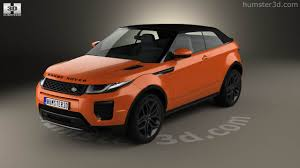 land rover suv 2016 360 view of land rover range rover evoque convertible 2016 3d