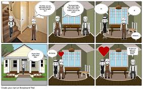 chapter 5 the great gatsby storyboard by nicolenjb4