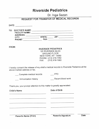 form medical records request form
